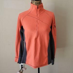 Columbia Coral Fleece Long Sleeve Sweatshirt Large